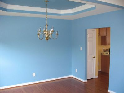 Your Denver Metro Construction Sherwin Williams Interior Sky Blue Paint