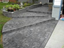 Your Denver Metro Construction Stamped Marble Grey Patio