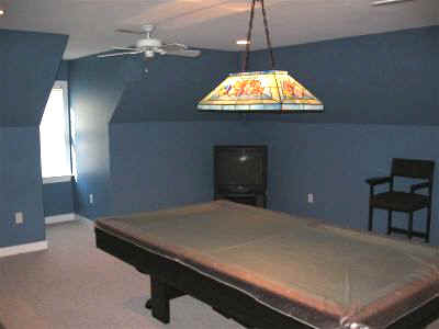 Your Denver Metro Construction Rec Room Midnight Blue by Guiry's Paint