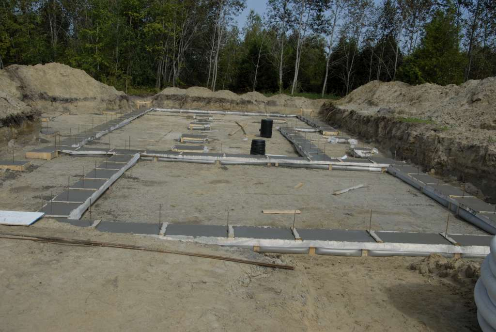 Your Denver Metro Construction  Residential Concrete Footings for Foundation